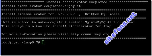LNMP Eaccelerator